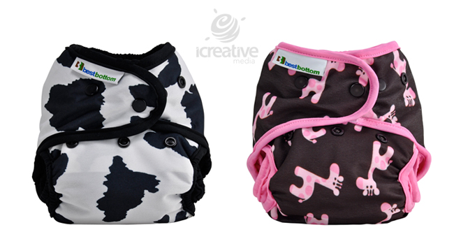 cloth diaper photography - product photography