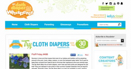 The Cloth Diaper Whisperer Redesign