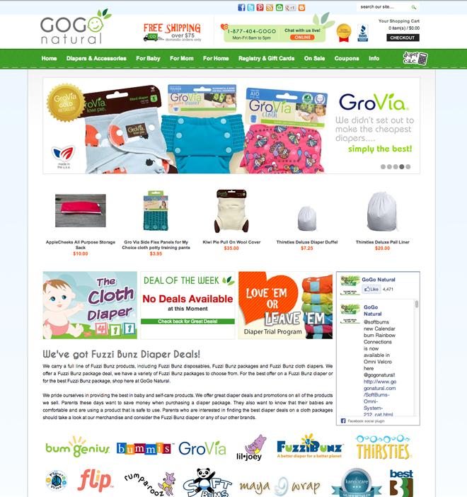 GoGo Natural Redesign