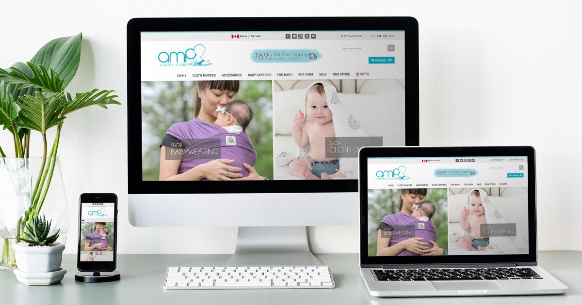 AMP Diaper Store Redesign