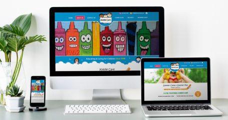 Kiddie Care ELC Website Design
